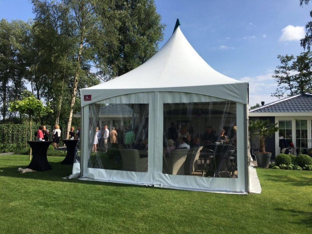 Pagodetenten huren voor uw evenement bij Visser Verhuur